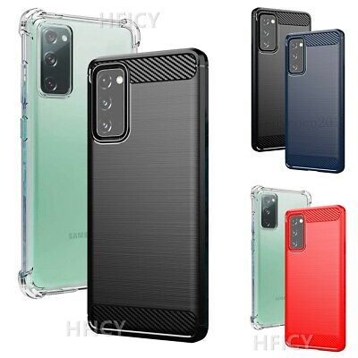 $ CDN7.83 • Buy 2-Pack Phone Cases & 2 Tempered Films Carbon Fiber Brushed Texture Soft Covers M