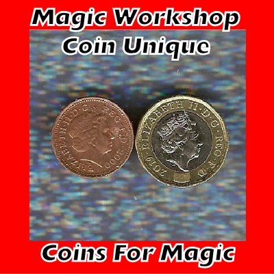£21.99 • Buy   Coin Unique  £1 & 1p   New Style Vanishing 1p  Magic Coin Trick