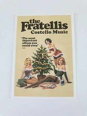The Fratellis Costello Music Promotional Advertising Card  • 0.99£