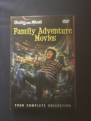 Daily Mail Family Adventure Movies 12 DVD Collection  • 2.50£