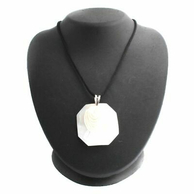 $112.79 • Buy HSN M+M Scognamiglio Octagonal Modern Lady Cameo Pendant With Cord