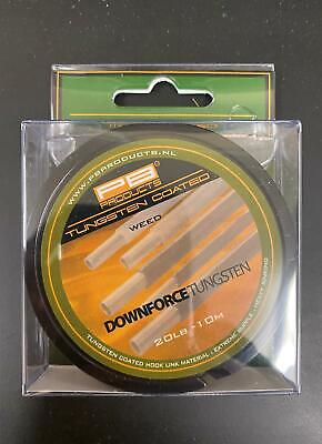 PB Products Downforce Tungsten Hooklink 20LB Weed • 14.99£
