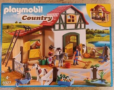 Playmobil Country Pony/horse Stables/farm 6927  • 26£