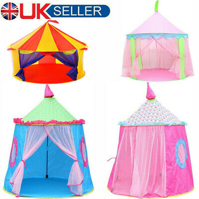 £19.24 • Buy XMAS Kids Dream Tent Pop-up Foldable Bed Home Indoor Playhouse Birthday Gift