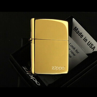 AU29 • Buy Brand New Zippo Lighter Case Classical Golden Ice