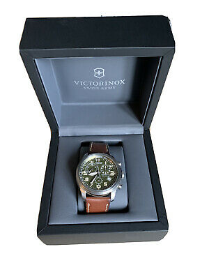 Mens Victorinox Swiss Army Infantry Vintage Chronograph Watch • 100£