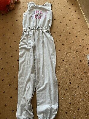 Girls All In One Piece Jump Suit Girls Team Age 10-11 By George At Asda • 5£