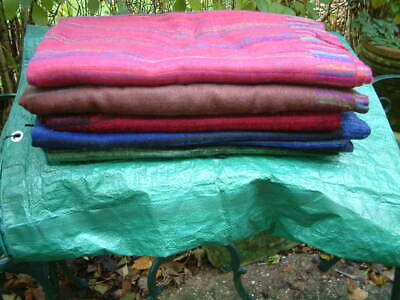 Tibetan Nepal Baby Yak Wool Shawl. So So Soft, Incredible Warm And Light. Perfec • 20£