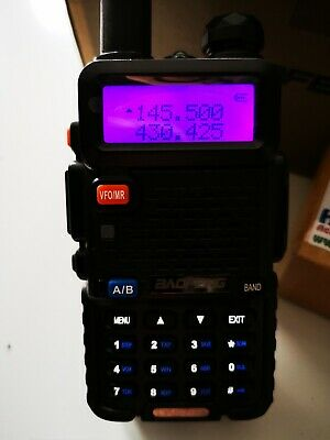 BAOFENG UV-5R Dual-Band 2 Way FM Radio VHF UHF Handheld.  • 20£