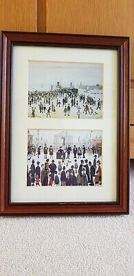 L S Lowry Double Aperture Framed Print • 5£