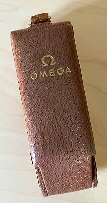 Omega Coffin Box Top Hat Watch Box C.period Vintage With Pat Pending • 0.99£