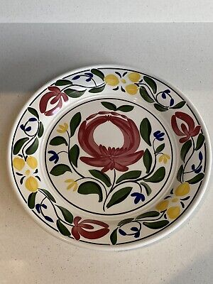 Portmeirion Welsh Dresser Dish/lipped Plate By Angharad Menna 1992. W27cms • 5.50£
