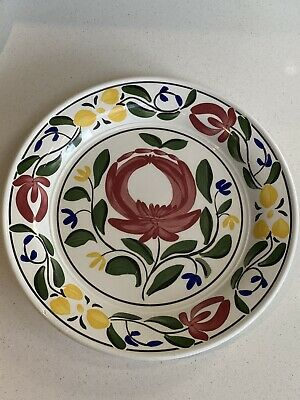Portmeirion Welsh Dresser Dish/lipped Plate By Angharad Menna 1992. W27cms • 4.20£
