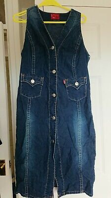 Levis Vintage Collecton Type 1 Size L Cord  Dress Vintage, Rare Bust 36-38in L38 • 19£