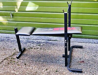 York Fitness Bench & Weights • 23£