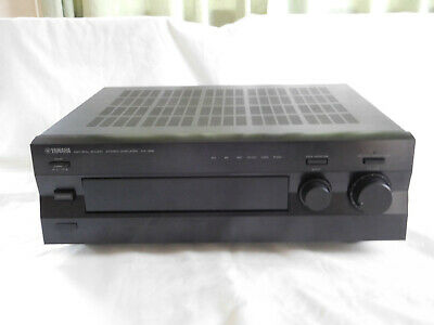 Yamaha AX-396 Stereo Amplifier C/w Original Remote, Instructions, & Packaging • 19.99£