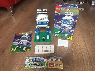 Vintage Lego 3310 Football Comentary Box And Scoreboard Set 1998, 100% Complete • 15£