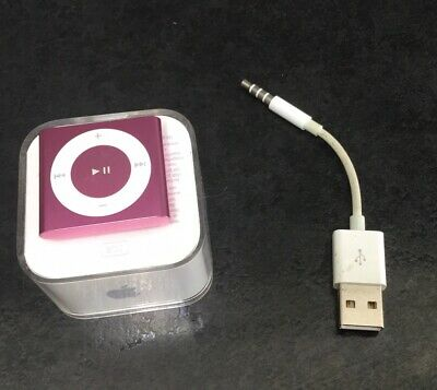 Apple IPod Shuffle 4th Generation Pink (2GB) Complete With Case Bundle • 29.95£