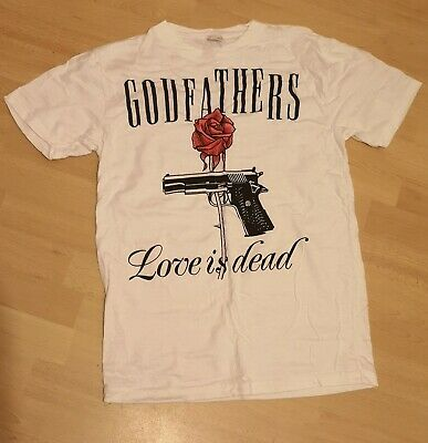 The Godfathers: Love Is Dead Promotional T-shirt • 12£