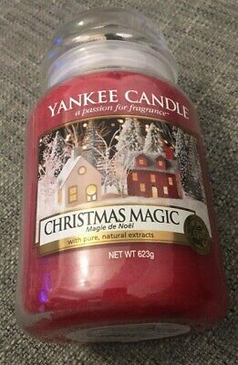 Yankee Candle Christmas Magic Classic Large Jar Brand New • 16.99£