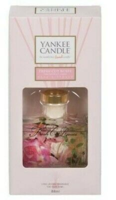 Yankee Candle Reed Diffuser, Fresh Cut Roses, 88ml Brand New  • 8£