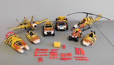$ CDN48.35 • Buy Vintage G.I. Joe ARAH Tiger Force Lot Of 8 Vehicles With Parts And Accessories