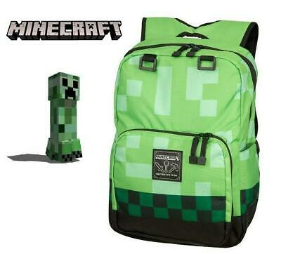 AU39.99 • Buy Minecraft Creeper Backpack Bag School Kids 03