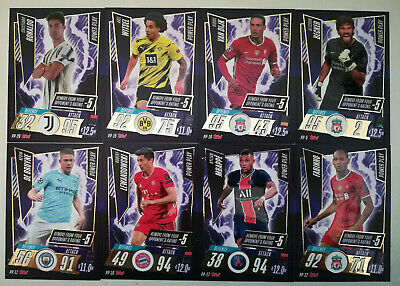 £8.95 • Buy MATCH ATTAX 2020/21 20/21 CHAMPIONS LEAGUE - POWER PLAY PS SS Ii Wc GG MW