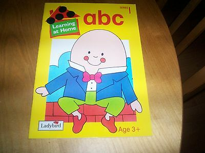 Ladybird Book Learning At Home ABC New • 1.86£