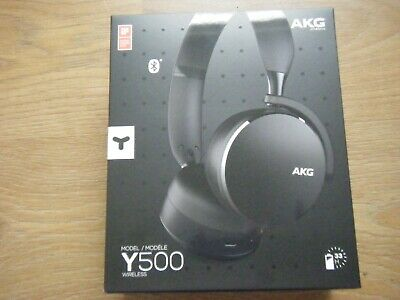 Akg Y500 On The Ear Wireless  Headphones - New, Boxed, Unopened • 27£