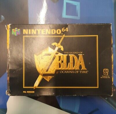 £42.85 • Buy The Legend Of Zelda Ocarina Of Time N64 Boxed.