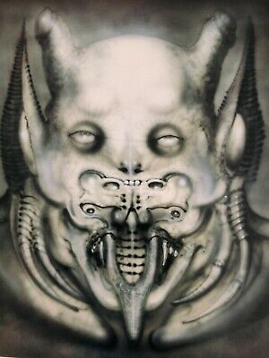 DAEMON Print By H.R Giger. Signed Limited Edition  • 100£