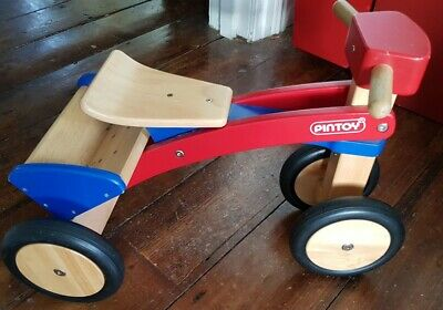 Pintoy Wooden Trike Tricycle • 20£