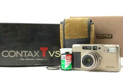 $ CDN518.92 • Buy 【  NEAR MINT In BOX  】CONTAX TVS 35mm Point & Shoot Film Camera From JAPAN  #399