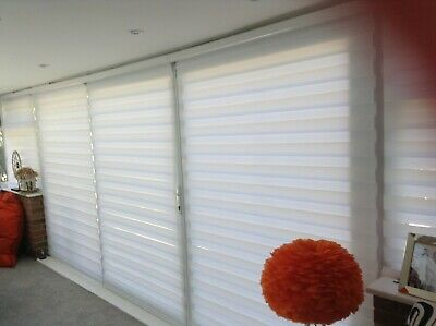 Duo Blinds White With Somfy Remote-control • 900£