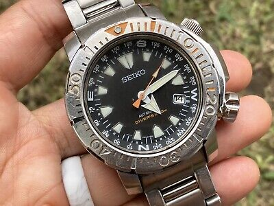 $ CDN84.34 • Buy SEIKO Land Monster Automatic Divers Watch 7S35-00F0 Stainless - Runs 4Repair