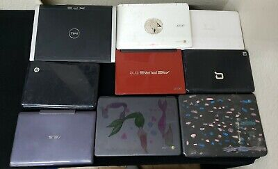 $ CDN378.63 • Buy Lot Of Laptops Hp Dell Asus Acer Samsung (for Parts) (as Is) (9 Piece Lot Sale)!