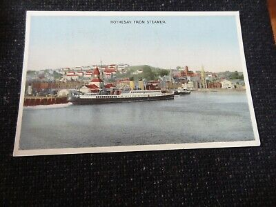 Rothesay From Steamer Postcard Argyll & Bute - 33293 • 4£