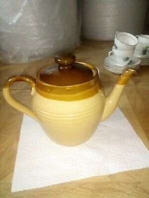 Large Brown And Beige T.G. Green Church Gresley Teapot • 10£