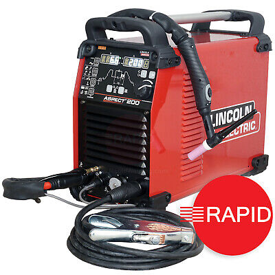 £2995 • Buy Lincoln Electric Aspect 200 AC/DC Tig Welder Package, 115/230v