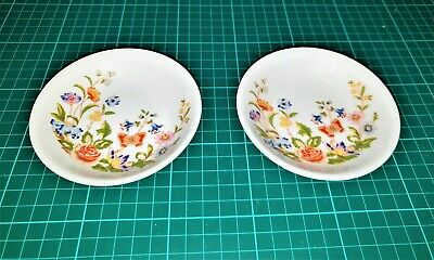 2 X Aynsley Cottage Garden Small Bowls • 1£