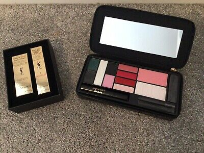 YSL Mascara Primer Mini Set And Eyeshadow Blusher And Lip Palette Bundle - New  • 5£
