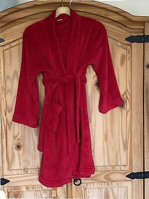 Blue Zoo Boys Red Dressing Gown 9-10 • 2£