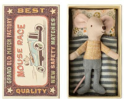 Maileg Mice Little Brother Mouse In Matchbox - BRAND NEW • 18£