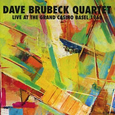 Dave Brubeck Quartet - Live At The Grand Casino Basel 1963 (2018)  CD  NEW • 6.95£