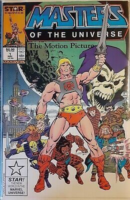 $18.99 • Buy Masters Of The Universe The Motion Picture Comic / Rare He-Man Comic  NM !