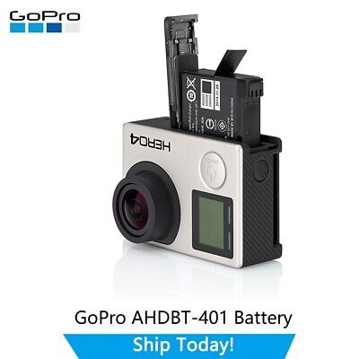 $ CDN18.66 • Buy GoPro AHDBT-401 Rechargeable Battery 1160mAh 4.4Wh Battery For GoPro HERO 4