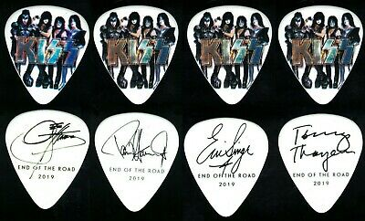 $ CDN35.18 • Buy Kiss-2019 End Of The Road Tour Guitar Pick Set-all 4-gene-paul-eric-tommy!-group