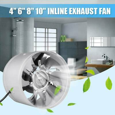 AU27.99 • Buy New 4/6 Inch Silent Inline Duct Booster Exhaust Fan Intake Out Take Ventilation