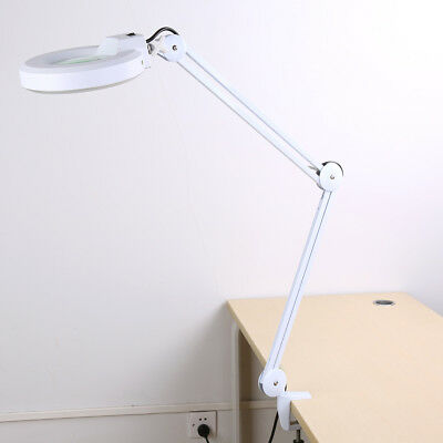 £27.72 • Buy 5X Magnifier Magnifying Lamp Light Clip Clamp Skincare Beauty Nail Tattoo Salon